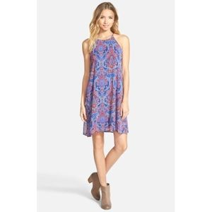 Everly | Paisley Halter Swing Dress S